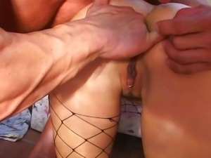Hot assfuck and swallow