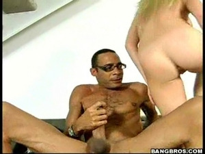 Big cock for a hot babe