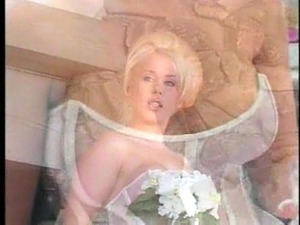 Bride is getting horny