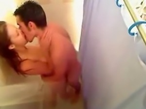 Perfect shower sex