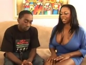 Horny Black BBW Mother