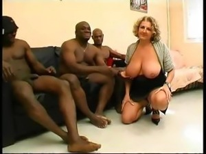 French Busty Mature Woman Part 1