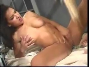 Sexy lesbina action in the jail