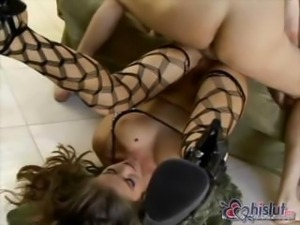 Rita Faltoyano Takes Big Cock Deep In Her Asshole