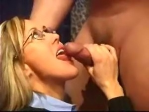 Facial cum swallow casting
