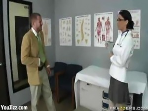 Sexy Busty School Nurse Jessica Jaymes - Part 1