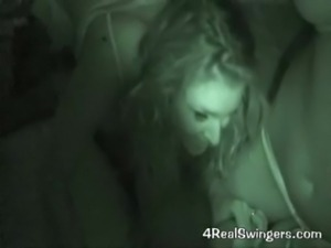 Crazy Drunk Swinger Orgy Caught on Tape!