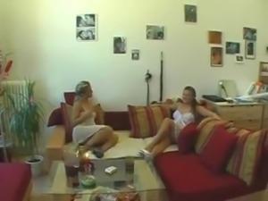 amazing german twins fucking lucky guy