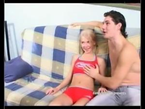 Skinny Tiny Blond Girl Anal free