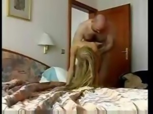 Captivating skinny Czech girl dives in some extreme casting