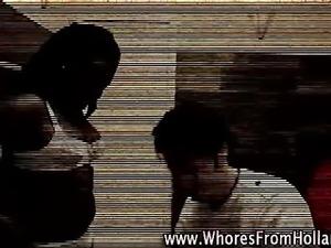 Amateur visits black hooker