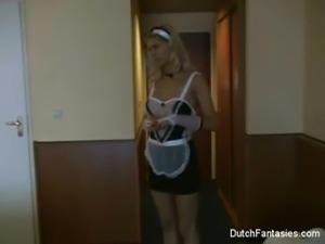 Dutch Hotel Maid Gets Fucked