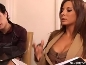 Naughty Office - Madison Ivy