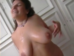 French mature chubby try old and young cock