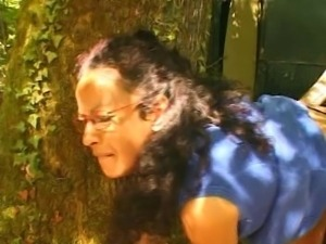 French mature hairy housewife outdoor