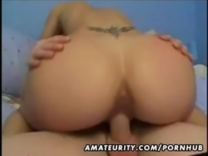 Amateur girlfriend homemade suck and fuck with facial cumshot