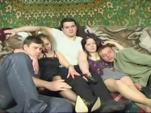 Russian Group Sex
