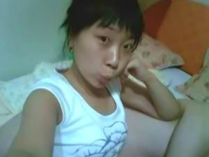 Korean Amateur GF Cute Face Tight Ass Clean Asshole Pussy