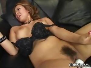 Yuuna Enomoto In A Blowjob And Dildo part5