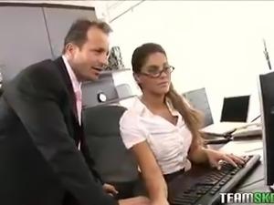 TeamSkeet Hot brunette Derancesca Gallardo teen anal pussy fuckin