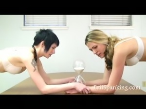2 Sexy Teens Ass Spanked