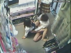 Two Hotties Asian Teen Store Fu ... free