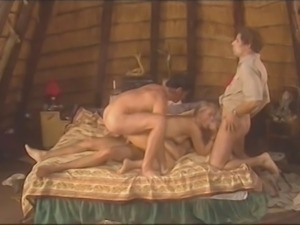 Blondie well fucked in Africa