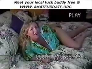 Busty boobs tits blonde MILF ma ... free