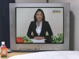 Asian Gets Fucked On Public Television
