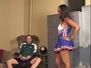 Angel Eyes - Ebony Cheerleader Creampie