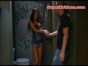 Alektra sex in the bathroom free