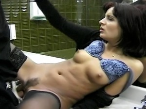 this slut is so cock hungry that she would fuck anyone ... and anywhere......