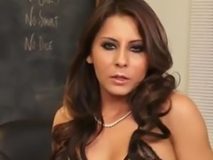 Madison Ivy  hot teacher in lingerie