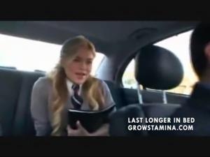 Private Schoolgirl fucks her driver free