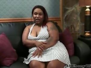 Bbw Lala black ebony cumshots ebony swallow interracial african ghetto bbc