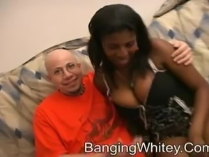 A black whore and a fucking white boy