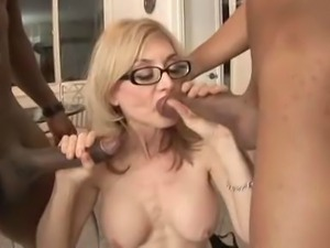 Scene from Cheating Housewives 4.  Nina does an anal and a dp.