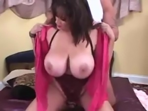 Hugetitted cougar