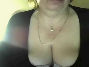 Brazilian BBW 46 years old - double dildo