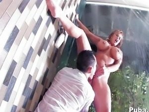Shyla's anal pounding