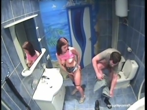 security cam in bathroom catche ... free