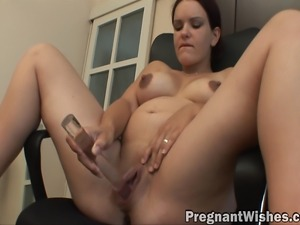 Pregnant girl solo