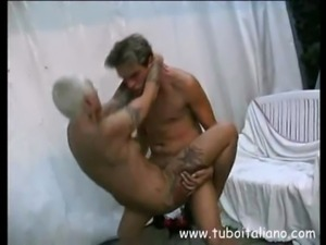 Italian Blonde Milf Interracial ... free