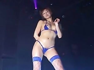 Akane Yazaki Bikini Dance