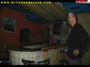 Big Titted German Amateur Fucks in a bar (Sexy-engel)