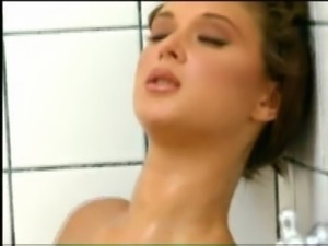 Channone fucks in shower free