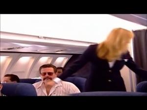 Ginger Lynn & Juli Ashton on a plane
