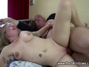 Horny tourist loves his hookers pussy and mouth on his hard dick