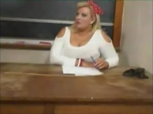 Sexy BBW teacher fucks her stud ... free