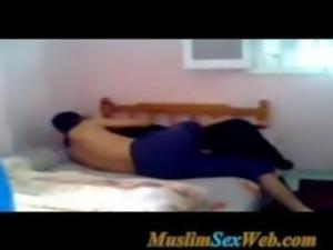 Arab Muslim Girl Wearing Niqab Fuckiing With Her Lover